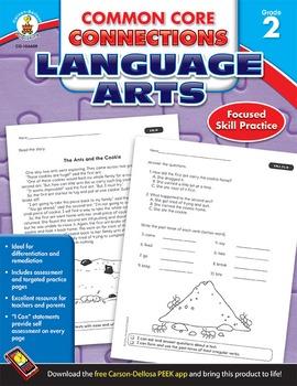 Common Core Connections Language Arts Grade 2 SALE 20% OFF