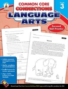 Common Core Connections Language Arts Grade 3 Skill Assess