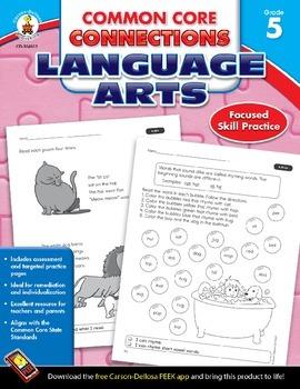Common Core Connections Language Arts Grade 5 Skill Assess