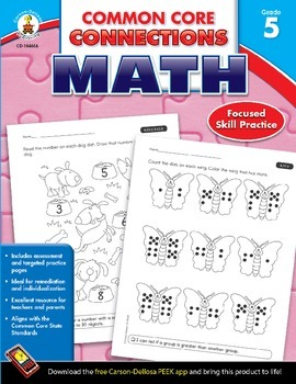 Common Core Connections Math Grade 5 Skill Assessment Sample