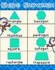 Common Core Craftivity ~ Shape Snowman