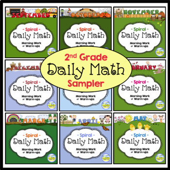 Daily Math - 2nd Grade Sample Pages