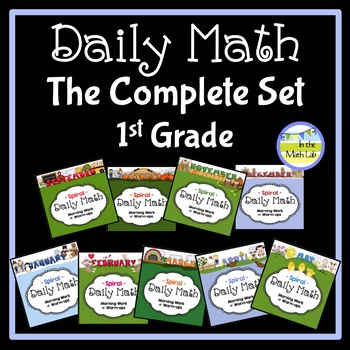 Daily Math for 1st Grade - Complete Set