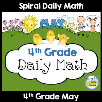 Morning Work | 4th Grade May
