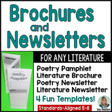 Poetry & Short Stories: Brochures and Newsletters for ANY