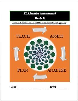 Common Core ELA Assessment (5) Grade 3