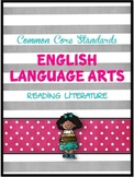 Common Core ELA Assessments FREEBIE (Reading Literature)