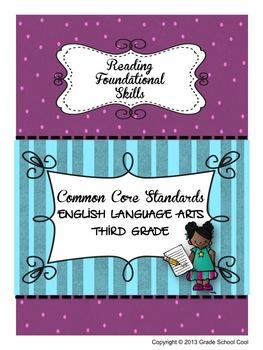 Common Core ELA Assessments Grade 3 (Reading Foundational Skills)