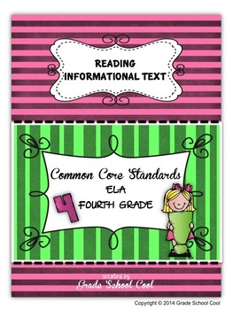 Common Core ELA Assessments Grade 4 (Reading Informational Text)