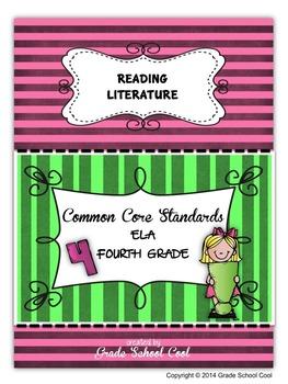 Common Core ELA Assessments Grade 4 (Reading Literature)