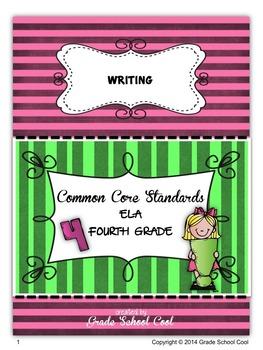 Common Core ELA Assessments Grade 4 (Writing)