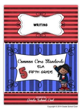 Common Core ELA Assessments Grade 5 (Writing)