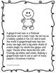 Common Core ELA Expository Gingerbread Man Writing Mini Unit