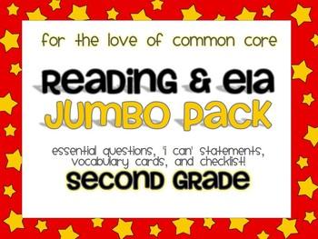 Common Core ELA Jumbo Pack {Hollywood Stars}