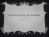 Common Core ELA RL.4.4 Mythology Slides