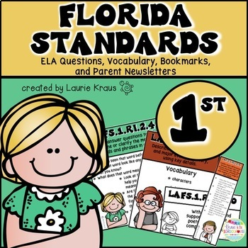 1st Grade Florida Standards ELA Reading Literature and Inf