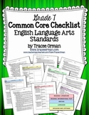 Common Core ELA Standards Checklists Grade 7