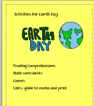Earth Day Printables: Common Core reading, writing, and ma