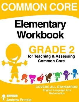Common Core - Elementary Workbook - Grade 2 - Language Art