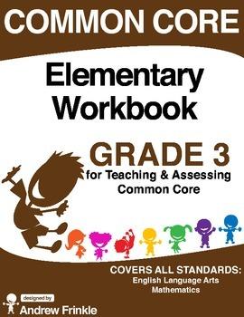 Common Core - Elementary Workbook - Grade 3 - Language Art