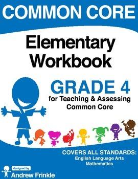 Common Core - Elementary Workbook - Grade 4 - Language Art