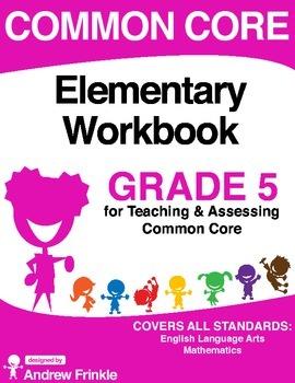 Common Core - Elementary Workbook - Grade 5 - Language Art