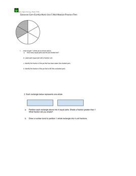 Common Core Eureka Math Module 5 Mid-Module Assessment Practice
