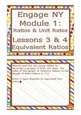 Common Core EngageNY / Eureka Math Module 1 Lesson 3 & 4