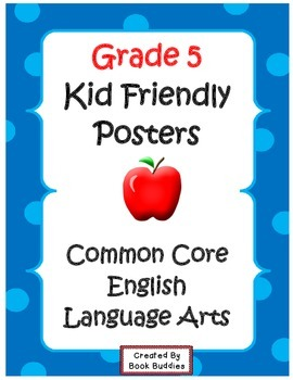 Common Core Standards Posters Grade 5