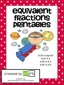 Common Core: Equivalent Fractions Practice