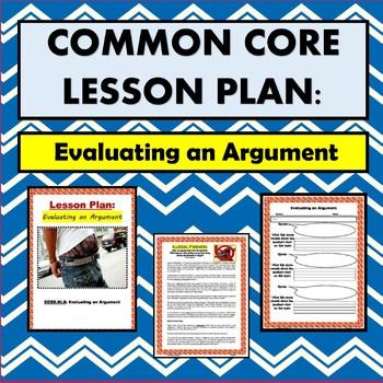 Common Core: Evaluating an Argument