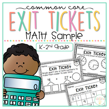 Common Core Exit Tickets: MATH SAMPLE
