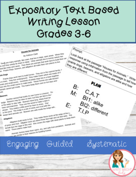 Common Core Explanatory Source Writing Video Lesson