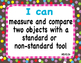 """Common Core Extended Standards """"I CAN"""" Statements K-2 Math"""