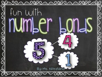 Common Core FUN with Number Bonds!