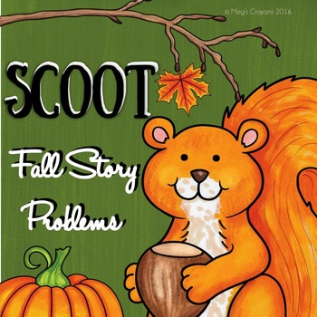#falloween Common Core: Fall Story Problems