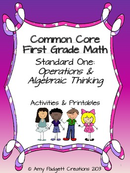 Common Core First Grade Math: Standard One (Operations and