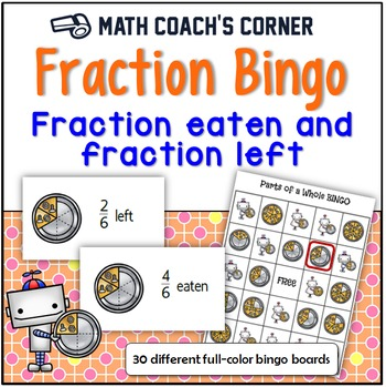 Fraction Bingo: What's Eaten and What's Left?