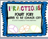 Common Core Fractions for 3rd Grade- Power Point Lessons