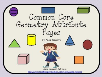 Common Core Geometry Attribute Pages