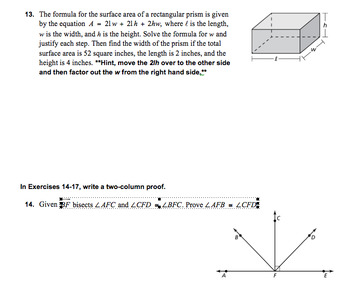 Common Core Geometry Complete Unit 2 - Reasoning and Proofs