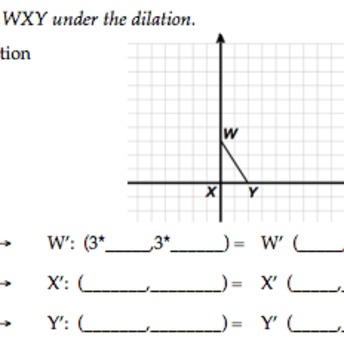 Common Core Geometry Early Dilations Practice Properties &