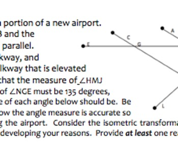 Common Core Geometry Practice (G.CO.9 Lines & Angle Proofs