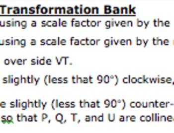 Common Core Geometry Practice (G.SRT.2 Similarity Using Tr