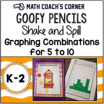 Common Core: Goofy Pencil Shake and Spill with Graphing, D