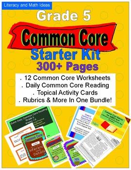 Common Core Grade 5 Starter Kit