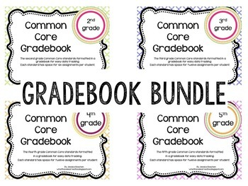 Common Core Grade Book {BUNDLE}