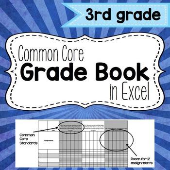 Common Core Grade Book {Third Grade}
