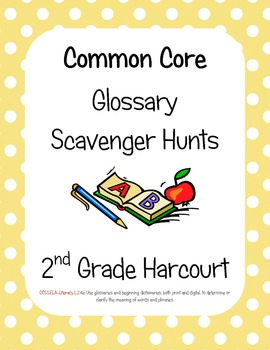 Common Core Harcourt Banner Days Theme 3: Travel Time Glos