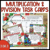Common Core: Holiday Theme Multiplication and Division Wor